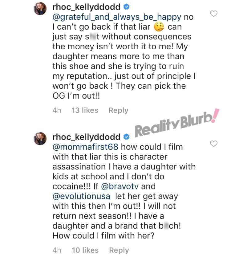 Kelly Dodd wont return to RHOC if Vicki Gunvalson does