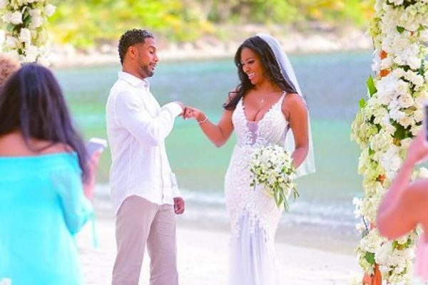 Kenya Moore Wedding Pictures