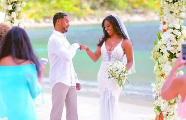 Kenya Moore Wedding Pictures