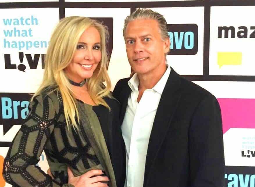 Shannon Beador and husband David