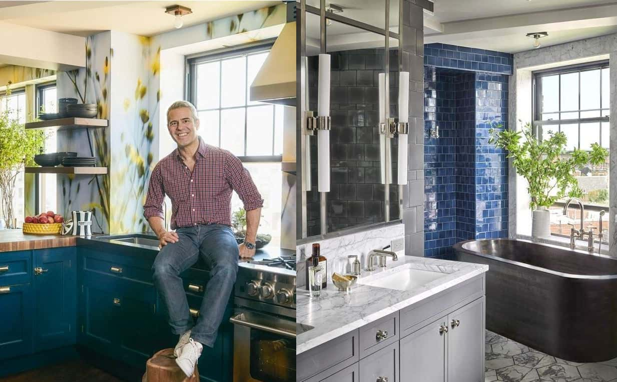 Photos Bravo S Andy Cohen Shows Off His Cool Nyc Home