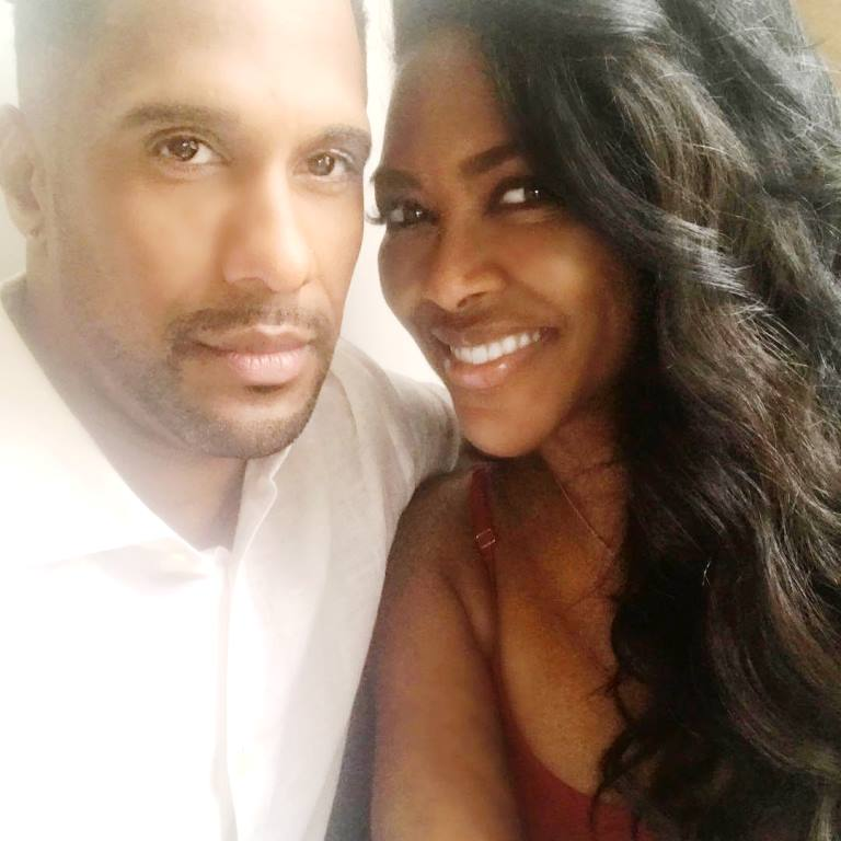 Picture of RHOA Kenya Moore's husband Marc Daly