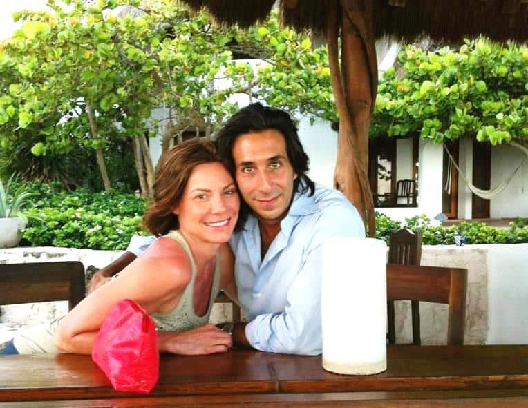 Jacques Azoulay and Luann de Lesseps