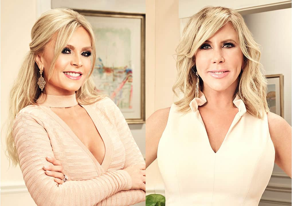 Real Housewives of Orange County 2017 Tamra Judge and Vicki Gunvalson