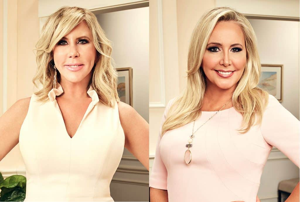 Shannon Beador and Vicki Gunvalson Real Housewives of Orange County 2017