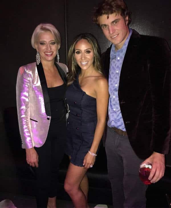 Dorinda Medley with Melissa Gorga and Shep Rose