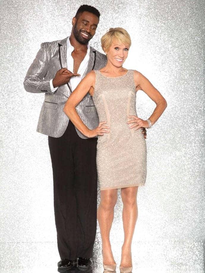2017 Dancing with the Stars Season 25 Barbara Corcoran and Keo Motsepe