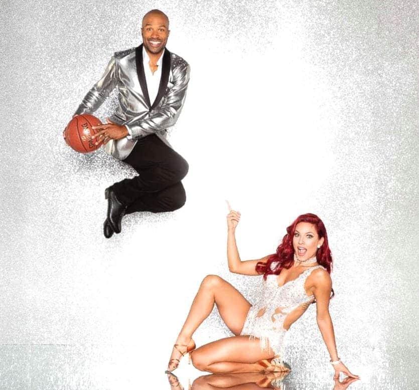 2017 Dancing with the Stars Season 25 Derek Fisher and Sharna Burgess