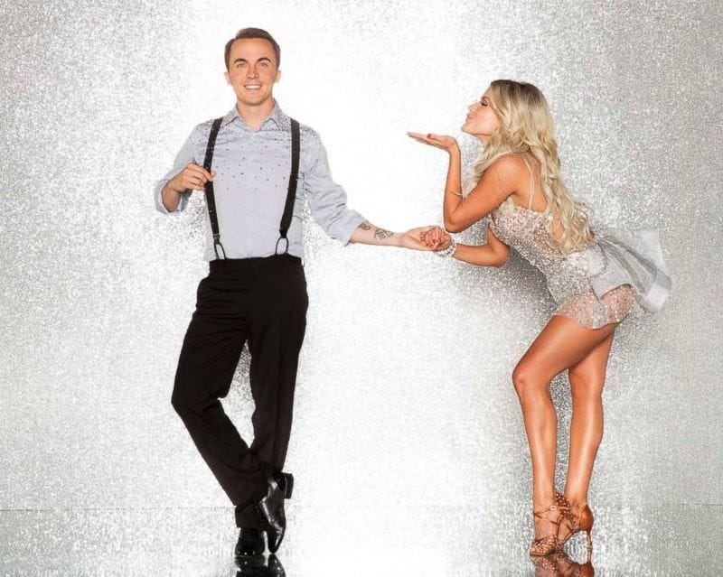 2017 Dancing With the Stars Season 25 Frankie Muniz and Witney Carson