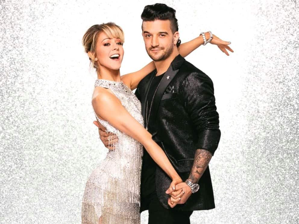 2017 Dancing with the Stars Season 25 Lindsey Stirling and Mark Ballas