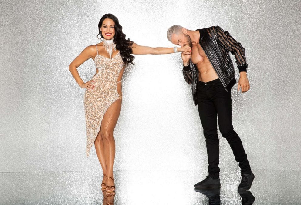 2017 Dancing With the Stars Season 25 Nikki Bella and Artem Chigvintsev