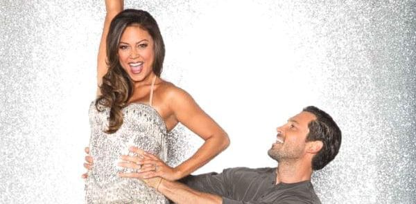 Dancing with the Stars Season 25 Vanessa Lachey and Maksim Chmerkovskiy