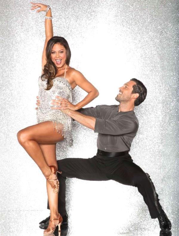 2017 Dancing with the Stars Season 25 Vanessa Lachey and Maksim Chmerkovskiy