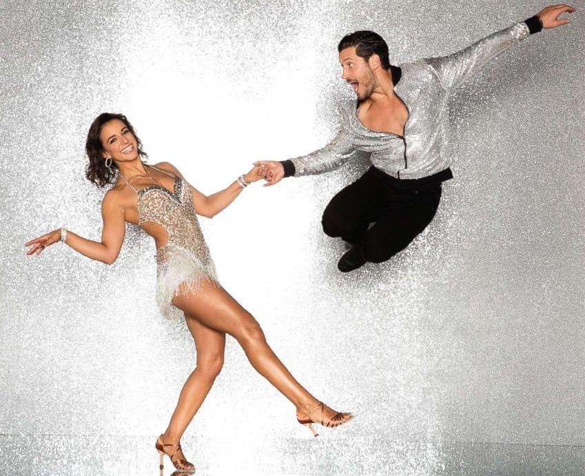 2017 Dancing With the Stars Season 25 Victoria Arlen and Val Chmerkovskiy