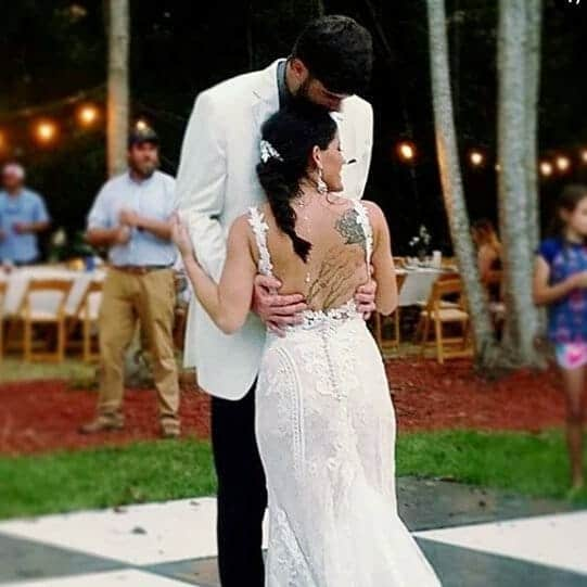 Jenelle and David wedding first dance