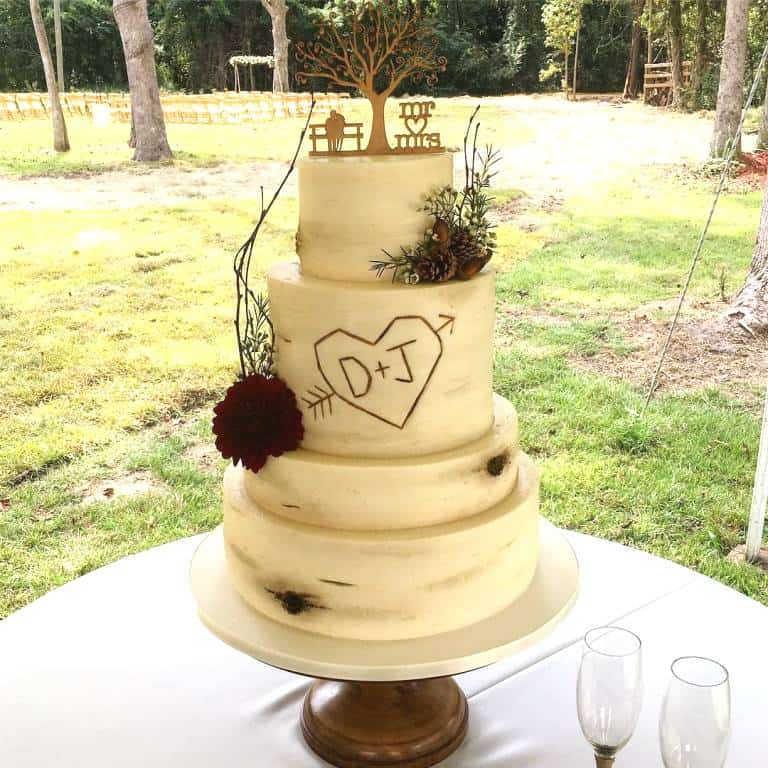 Jenelle Evans Wedding Cake