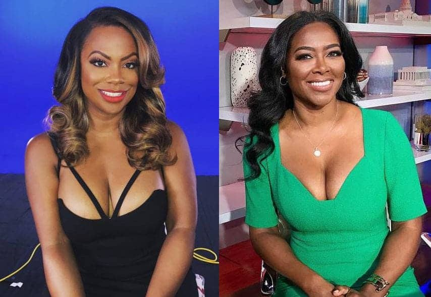 Kandi Burruss and Kenya Moore 2017