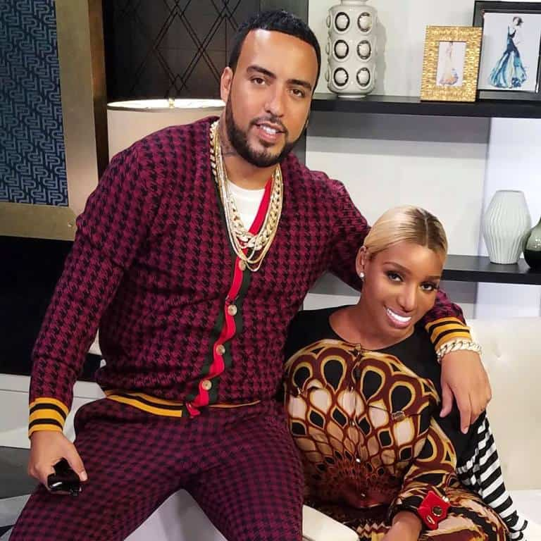 Nene Leakes and rapper French Montana