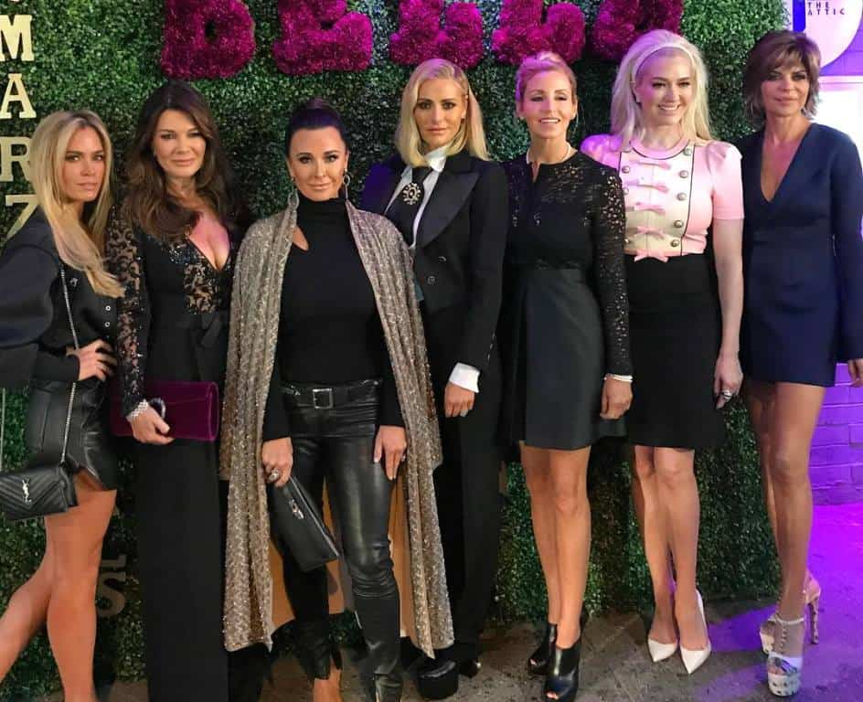 The Real Housewives of Beverly Hills Season 8 Cast with Camille Grammer and Teddi Jo Mellencamp