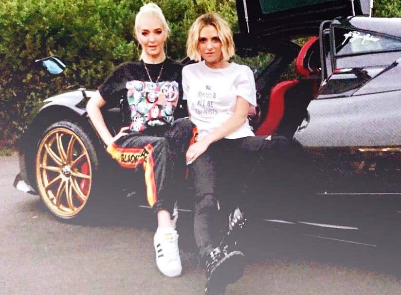Dorit Kemsley and Erika Jayne