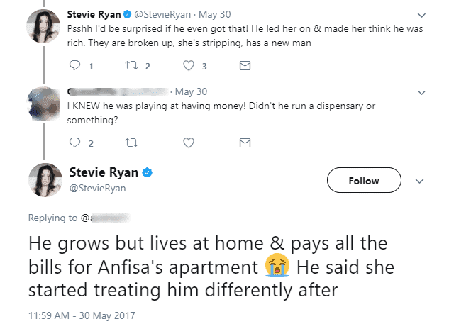 He Said She Started Treating Him Differently After Bought Her Boobs A Nose Job DUH HOMIE Hes Also Paying For New Chin Shes Getting Friday