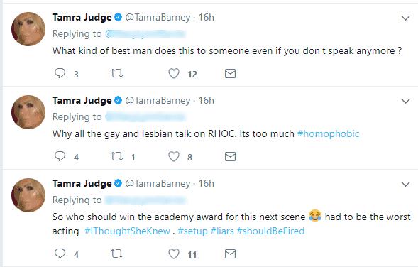 Tamra's tweets