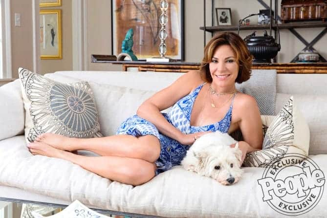 Luann de Lesseps home photos