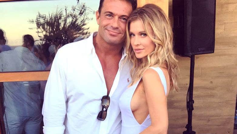 Romain Zago and Joanna Krupa Instagram