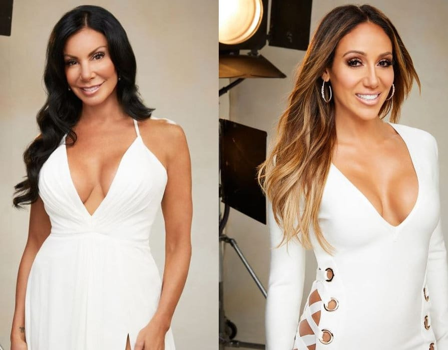 RHONJ 2017 Danielle Staub and Melissa Gorga