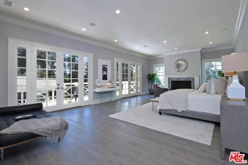 kyle richards home bedroom