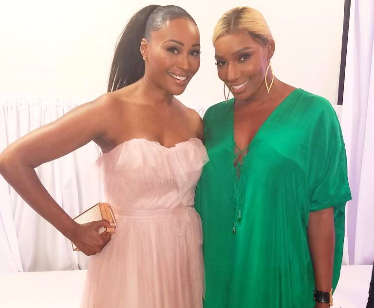 nene leakes and cynthia bailey 2017