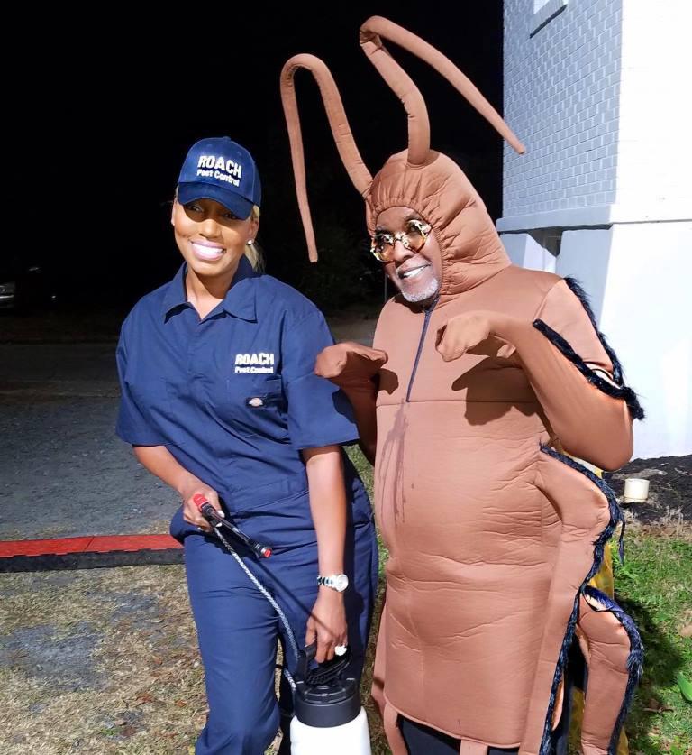 nene leakes gregg leakes roach Halloween costume