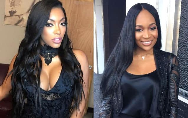 RHOA Porsha Williams vs Marlo Hampton