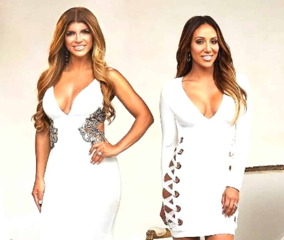"""Teresa Giudice Asks """"Why Did I Get In Trouble If Hillary Clinton Didn't?"""" Plus Melissa Gorga Talks Reconciliation with Jacqueline"""
