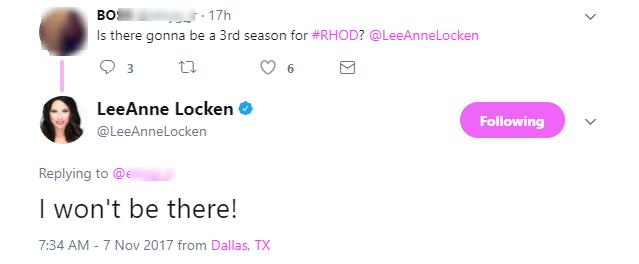 LeeAnne Locken tweet