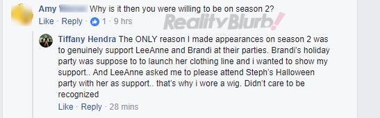 Tiffany facebook