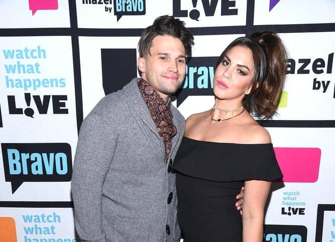 Tom Schwartz and Katie Maloney WWHL