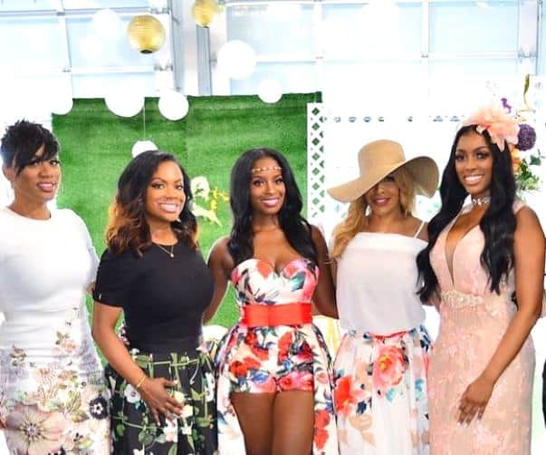 real housewives of atlanta recap distress shamea morton bridal shower