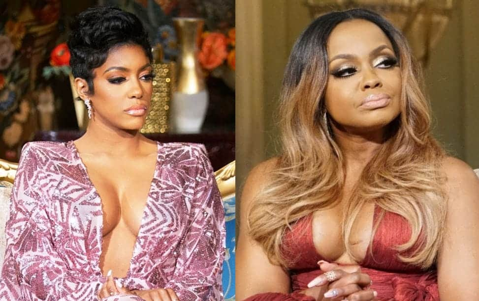 RHOA Porsha Williams and Phaedra Parks