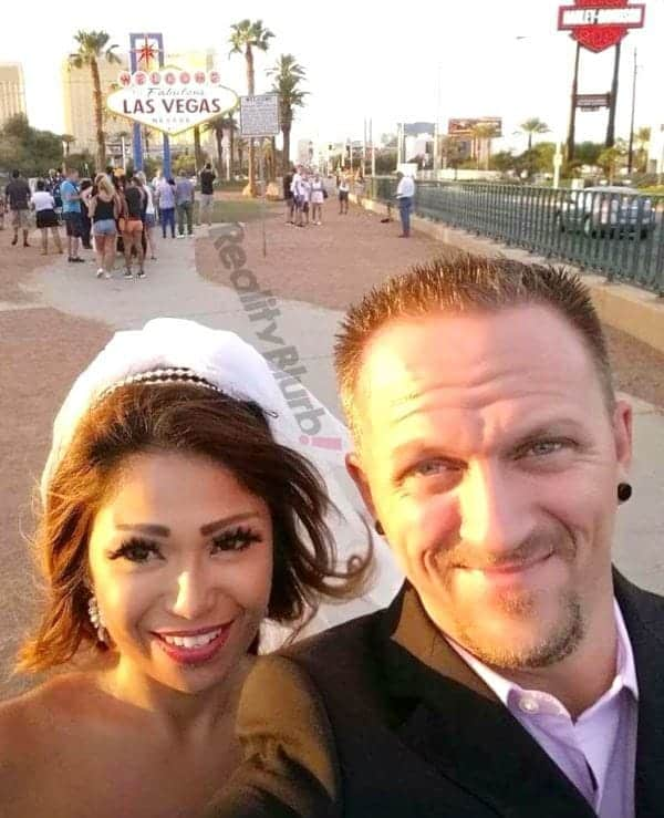 90 day fiance josh and aika wedding photo