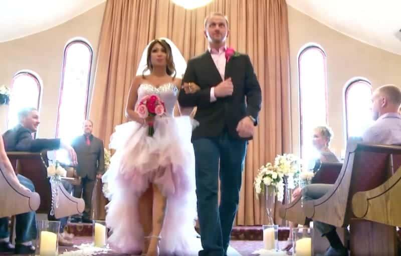 90 day fiance second thoughts recap josh aika wedding dress