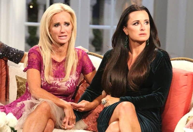 Kim Richards and Kyle Richards RHOBH Reunion