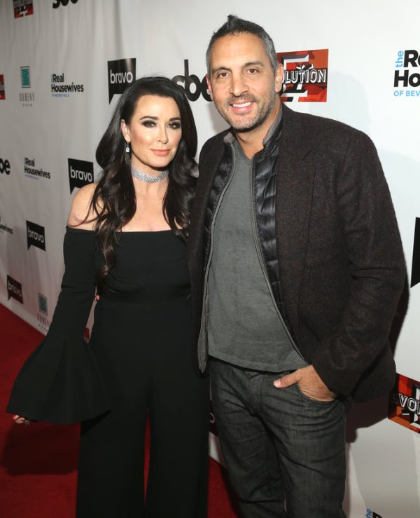 kyle richards and mauricio umansky rhobh Season 8 Premiere Party
