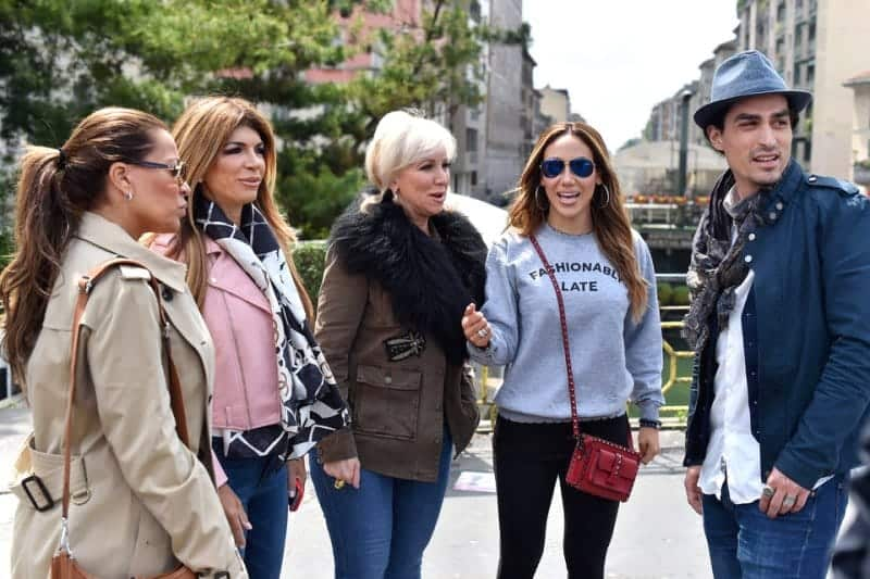 rhonj recap meltdown in milan