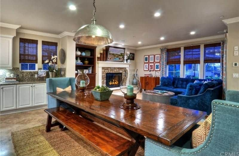 tamra judge home living room