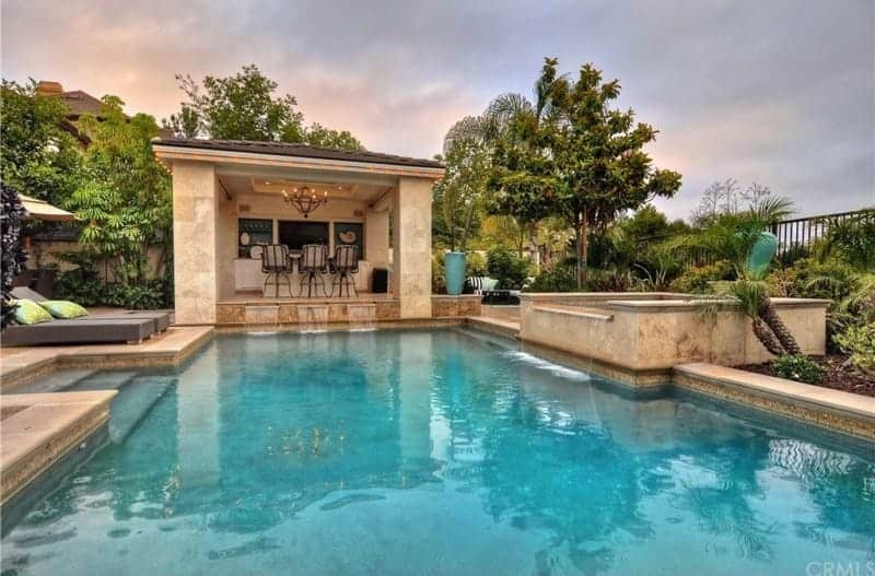 tamra judge home pool