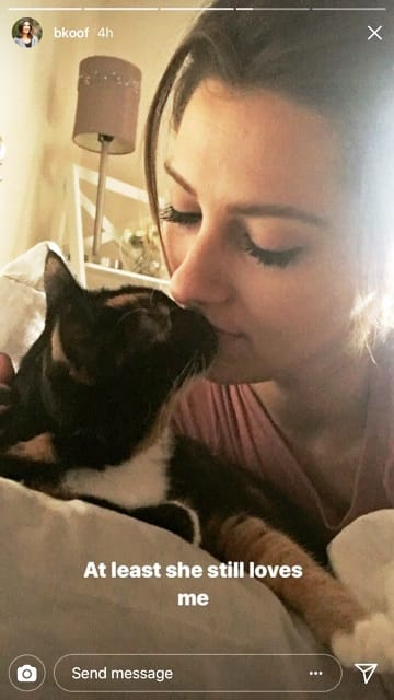 Becca Instagram Story