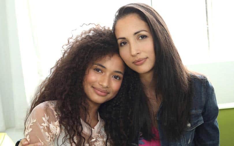 Making a Model With Yolanda Hadid - Athena Katoanga and Diana Katoanga
