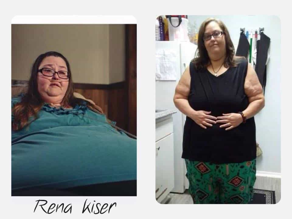 My 600-lb life rena kiser before and after weight loss update