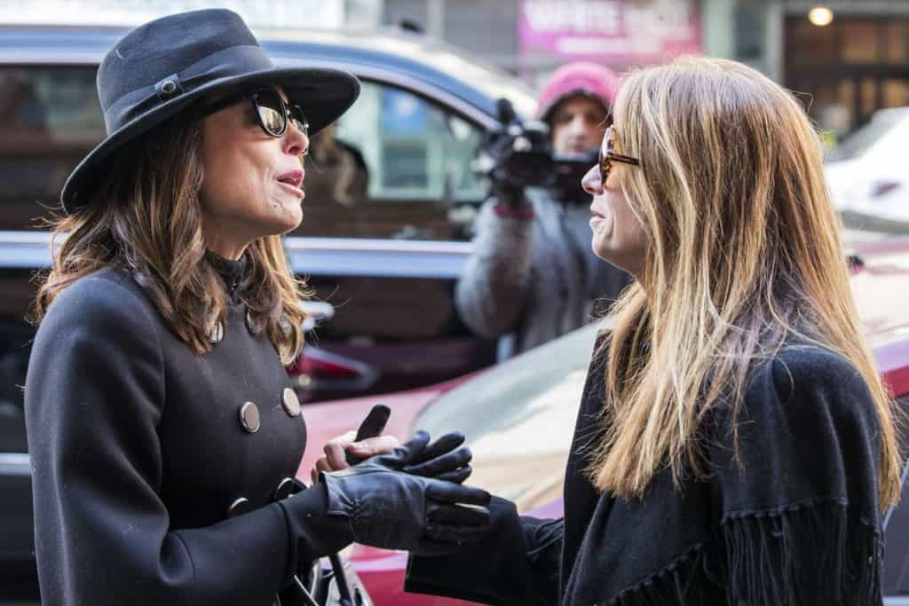 Bethenny Frankel and Jill Zarin reunion RHONY